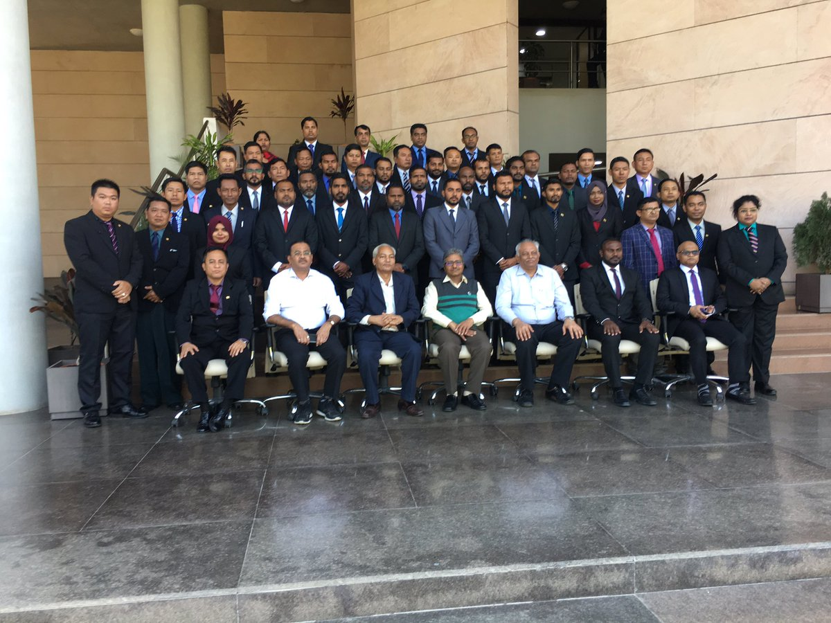 At GFSU of India with Police officers from Bangladesh, Maldhives and Myanmar https://t.co/xR7j3UeLoA