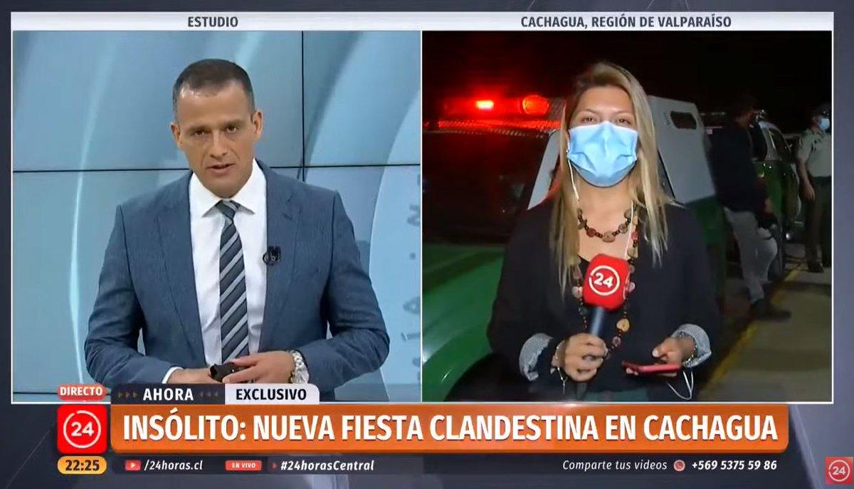 #ENVIVO | Otra fiesta clandestina fue descubierta esta tarde en la localidad de Cachagua. #24HorasCentral   📡 Sigue la señal en vivo #24Play ➡  🔺 Señal de YouTube en vivo ➡