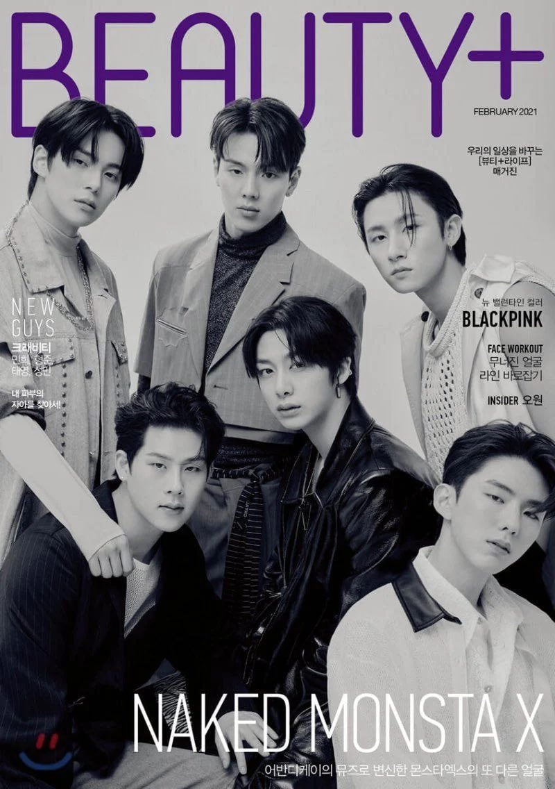 M in Monsta X is for MODELS 🔥