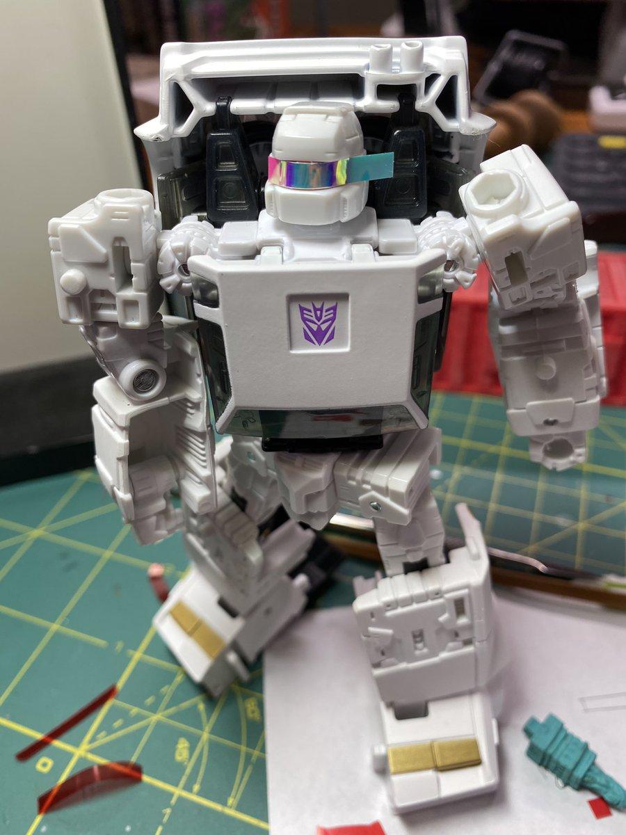 Earthrise Runamuck Visor Upgrade!  #Transformers