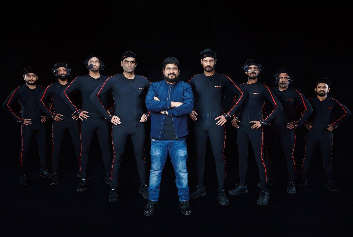 Motion capture begins. Creating the world of #Adipurush   #Prabhas #SaifAliKhan #BhushanKumar @vfxwaala @rajeshnair06 @TSeries @retrophiles1 #TSeries https://t.co/qAPlgL2qC9