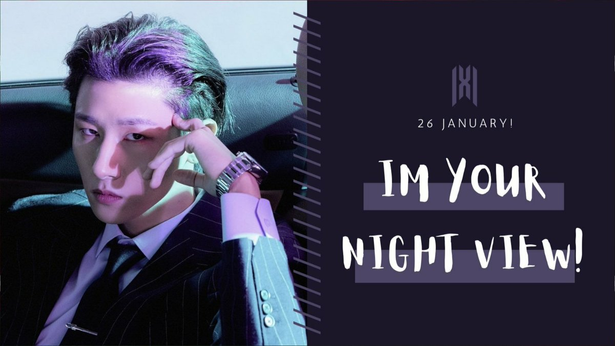 "Got Room for one more? Let's strap in to celebrate our Maknae's birthday! We bring to you ""IM Your Night View"" IM's Birthday Project!   We will be focusing our streaming and buying power celebrating IM's birthday. Once again we will be targeting World Digital Single Chart"