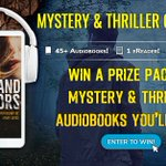 Image for the Tweet beginning: Great audiobook giveaway happening!