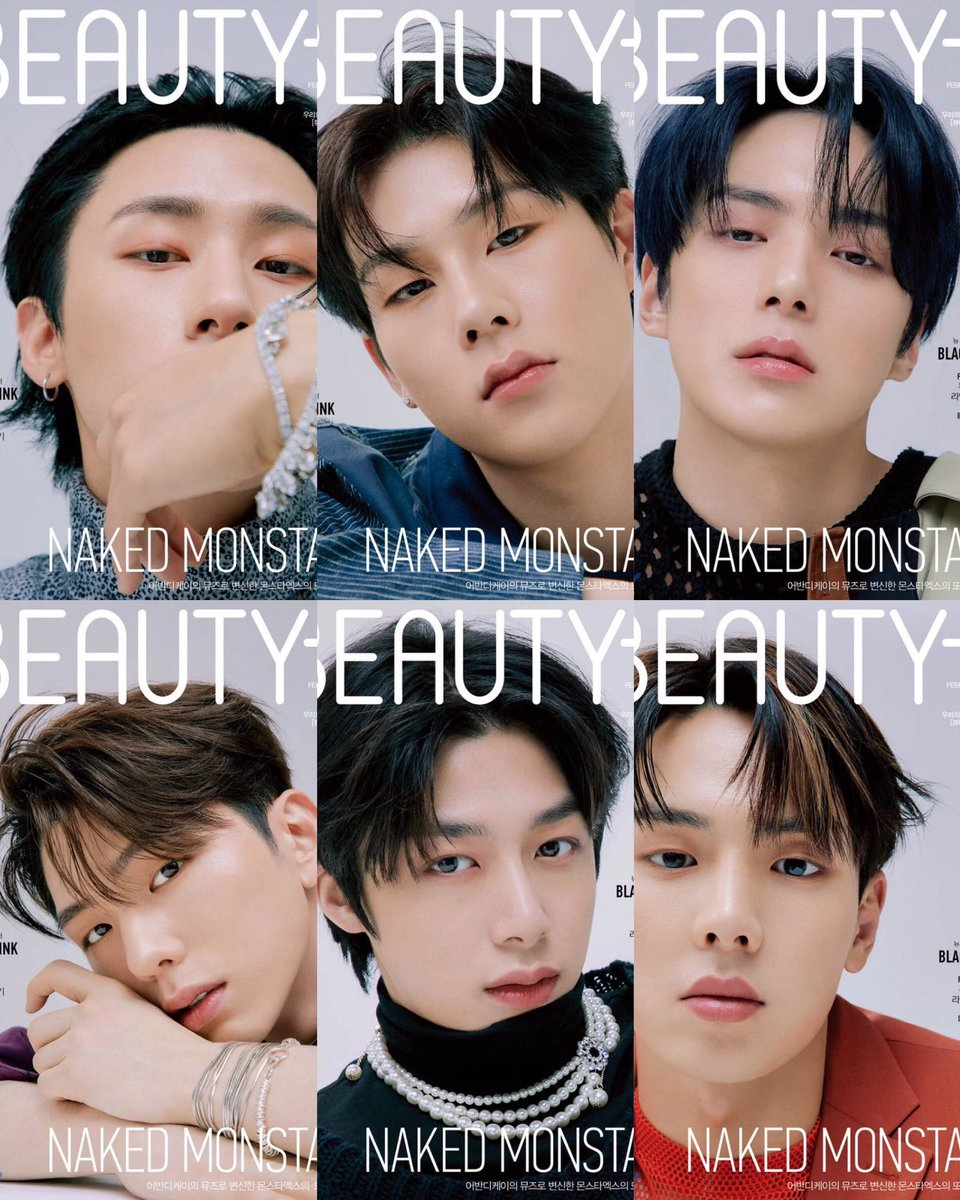 I think we can all agree that Beauty + always delivers! ❤️ I hope they continue to work with Monsta X a lot in the future too 🥰  @beautyplmania @OfficialMonstaX  #MONSTAX #몬스타엑스