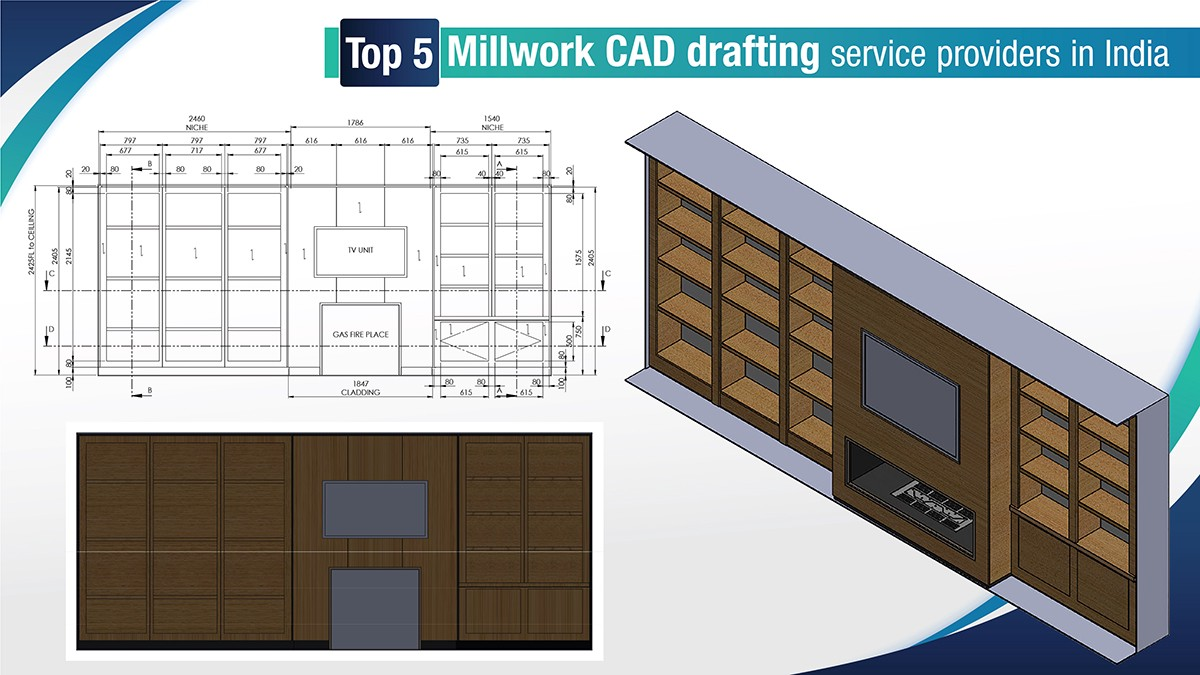 #Millwork industry teeters on the edge of stagnation and is affected by real cutthroat competition. If you are looking for a #CADdrafting partner here is a list of top 5 millwork #CAD drafting service providers in India. https://t.co/ZANB81mDUU https://t.co/sXOCjEC09V