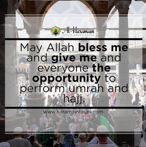 Al Haramain Hajj & Umrah Tours Ltd | May #Allah #Bless Me and Give Me and Everyone the #Opportunity to Perform #Umrah and #Hajj!!!  #HajjPackages #HajjPackagesUK #UmrahPackages #UmrahPackagesUK #HajjAndUmrahPackages  Visit -   Or  Quick Call - 01254 290101