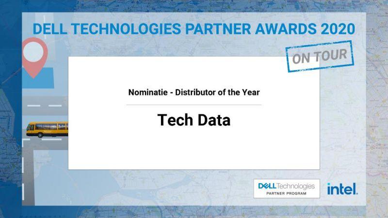 Tech Data genomineerd voor…