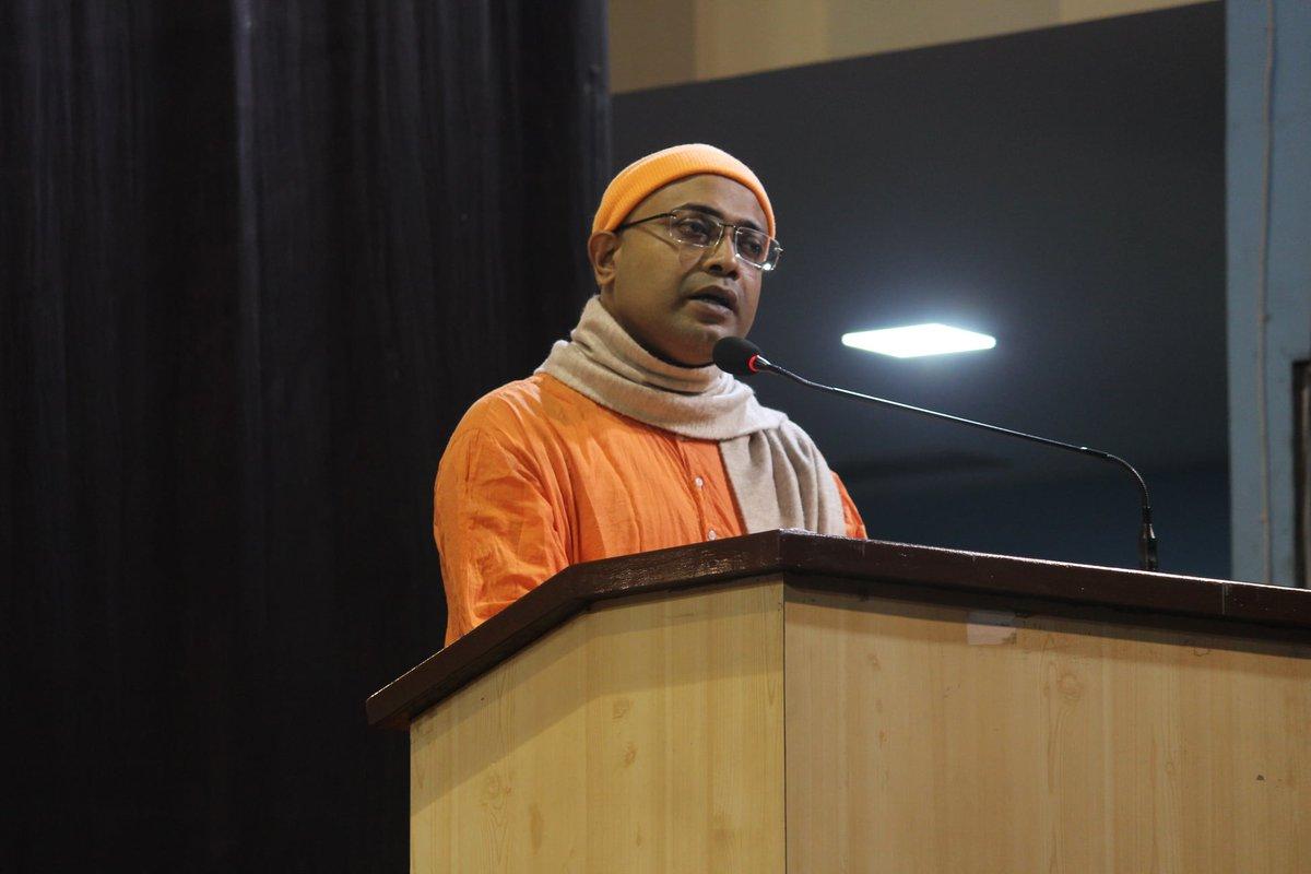 #NationalYouthDay Celebrations #2021 at #Vivekananda Sabhagriha on 12.01.2021 by #RamakrishnaMission Saradapitha. #youthempowerment #vivekananda #yoga