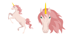 For fans of fantasy creatures, we created the cute animal cursor Unicorn, which looks like a beautiful horse with a horn. #CustomCursor #Cursor #pointer #Animal #Cute #AnimalsCursors #Animals #Unicorn #Pink #Horse #Beautiful #Fantasy #Mythical #Legendary