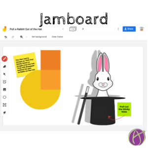 Google Jamboard: Pull a Rabbit Out of the Hat - alicekeeler.com/2021/01/12/goo…