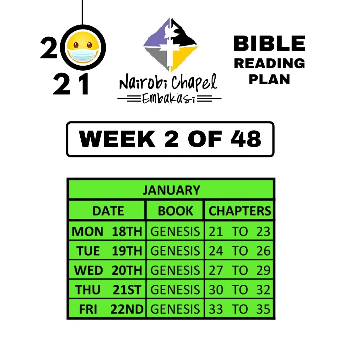 Good morning 📖 🙂 Today's 2021 #Bible #ReadingPlan continues with the book of #Genesis at chapters 24-26 🙂 • • • It'll only take you about 30 minutes to read 🙂 so *DM us If you need the plan's pdf version* #ReadYourBiblePrayEveryDay #IfYouWantToGrow