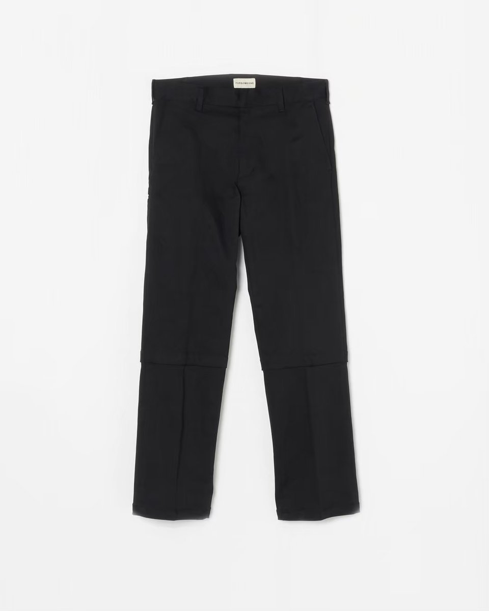 WORK TROUSERS ※SALE FINAL  MATERIAL  コットン98% ポリウレタン2%  FALL WINTER 2020 COLLECTION  [ FORSOMEONE FLAGSHIP STORE ] ℡ 03-5708-5838  ONLINE STORE    #FORSOMEONE #FALL #WINTER