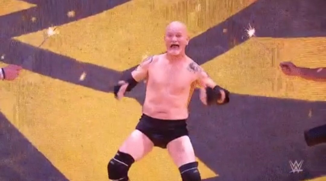 Who knew #Gillberg could talk. #WWERaw #WrestlingCommunity