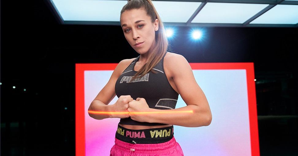 Replying to @WMMARankings: UFC star Joanna Jedrzejczyk signs deal with popular sportswear brand PUMA