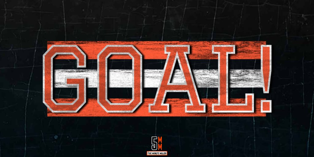 Nic Aubel-Kubel breaks through! His goal makes it 5-1, Sabres.   #5MM✖️#AnytimeAnywhere