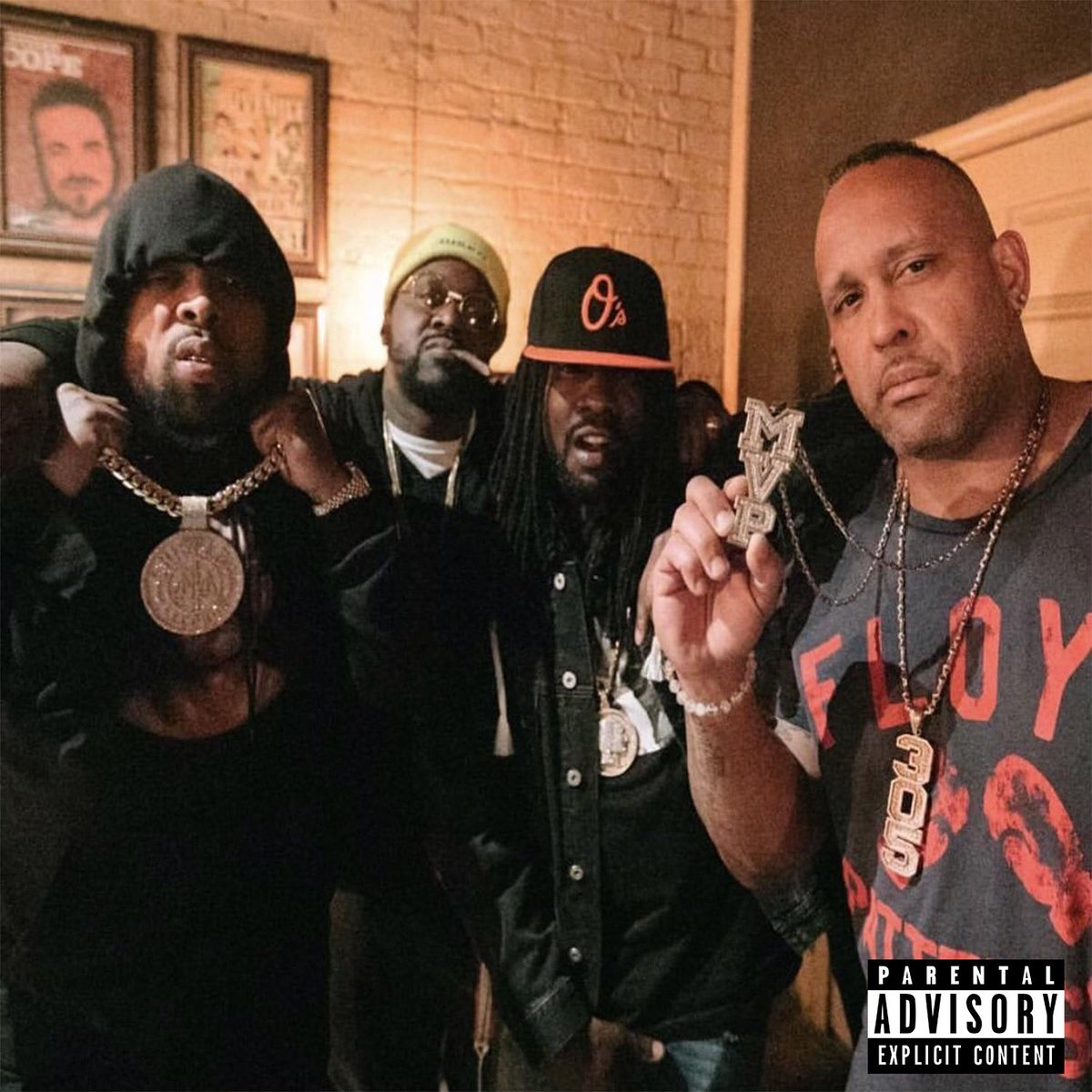 The HURT BUSINESS REMIX this Thurs. WSG x @smokedza x @Wale and the Man Himself @The305MVP ... business is BOOOOMIN #Culture #CONFLICTED #GXFR #RFC #4thRope @GriseldaRecords oh yea MVP killed this record 🤲🏽 #thehurtbusiness