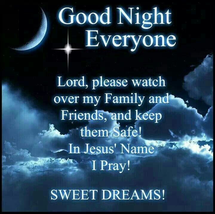 Good night twitter family. Sleep well get rest this is going to be a long week. Love you guys ❤️💙