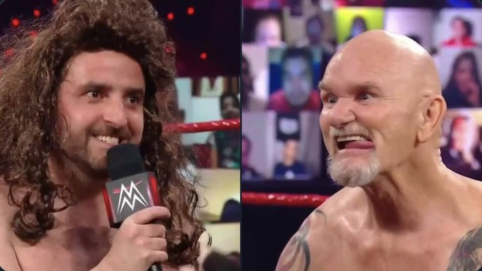Gillberg returns to Raw for awesomely bad segment with fat Drew McIntyre impersonator Photo