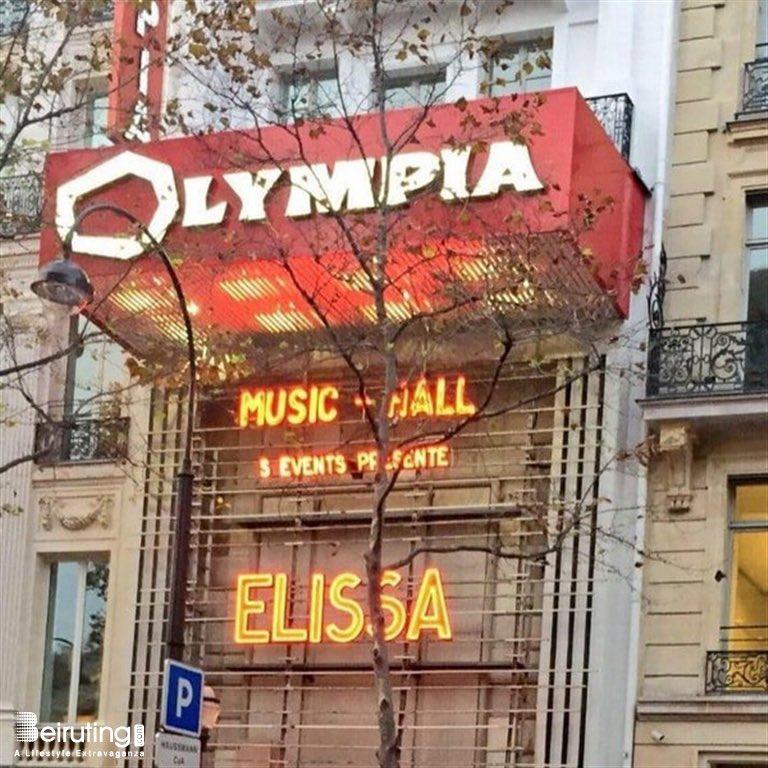 ليت الزمان يعود يوماً 🥺 @elissakh  #olympia