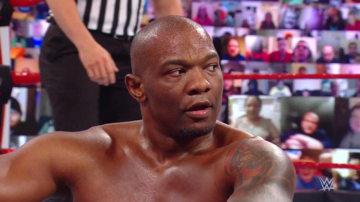 Annoyed @SheltyB803.  #WWERaw