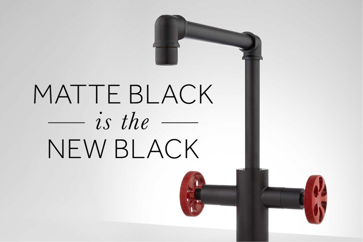 Delight in our variety of black kitchen faucets that will complement your sink and enhance the functionality of your daily tasks. We have everything from pull-down spring spouts to dual-handled models and even pot fillers. Shop kitchen faucets now: https://t.co/xXQXdVXBs6 https://t.co/FM0elLoZVm