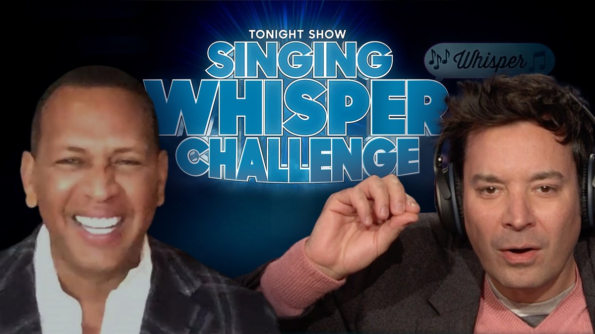 1. 🎧 🎶 2. 🎤 🤫 3. 🤷⁉️  More of the Singing Whisper Challenge w/ @AROD ➡️