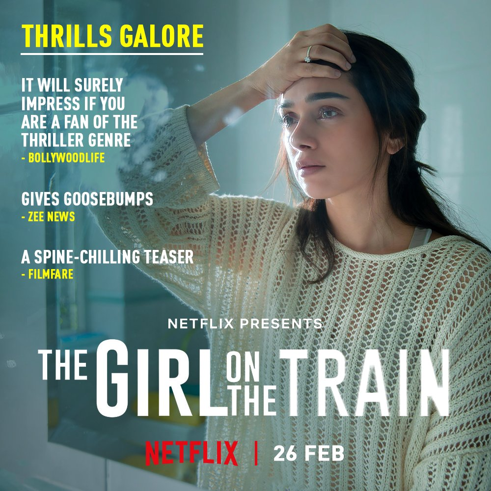 This train is surely all set to go places! #TGOTT premiers 26th Feb, only on Netflix.  @aditiraohydari @ParineetiChopra @IamKirtiKulhari @avinashtiw85 @tota_rc @SHAMAUN @ribhudasgupta @Shibasishsarkar @amblin @ZeeMusicCompany @NetflixIndia