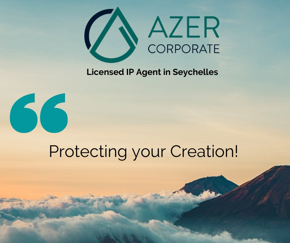 At Azer Corporate, our experienced staff, combined with our global network, allow us to provide the ongoing support you need to protect your Intellectual Property. Contact us today! #Seychelles #IP #IPAgent #Intellectualproperty #Copyright #Trademark #Licensing