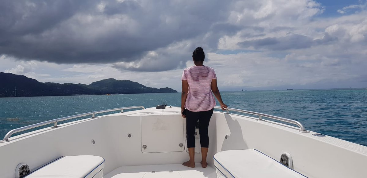 QT with a photo of you that somebody else has taken. Selfies are not allowed. It can be old or new but ideally one that really captures you.   Boy, do I love the #Seychelles! 💙💚💛 @visitseychelles