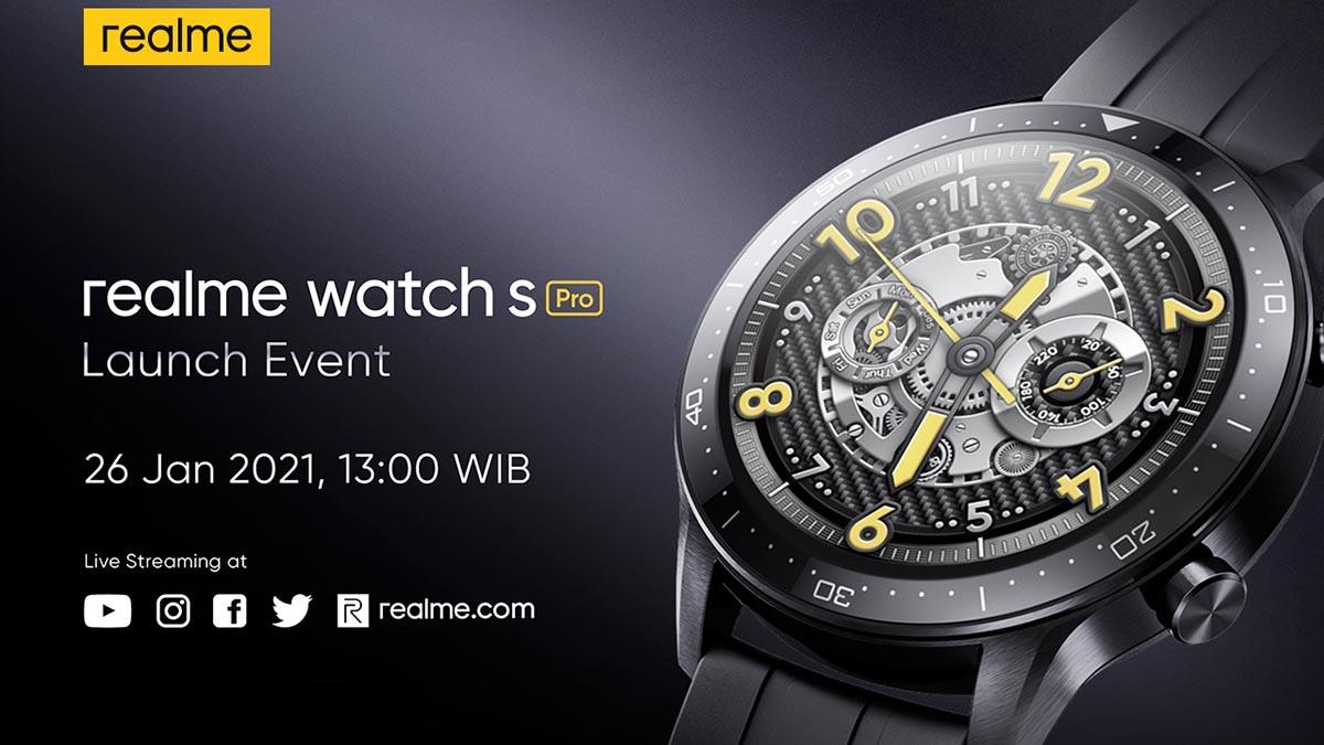 ealme Watch S Pro Siap Hadir di Indonesia  #realme #realmeWatchSPro #Smartwatch #theponsel #Nadin #IndoPride #Baekhyun #raiden