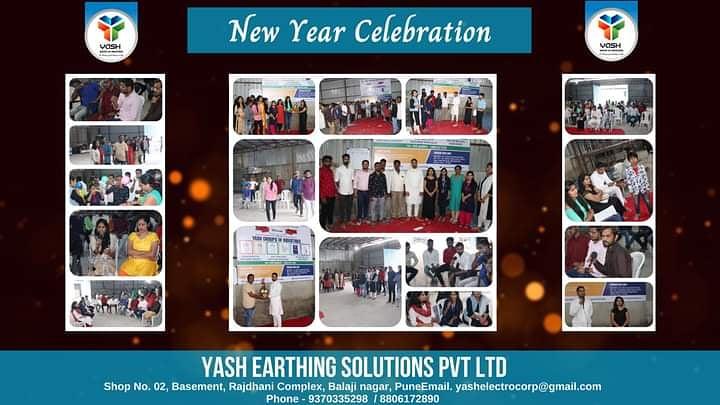 New Year Celebration #yashgroup  #yashearthingsolutions #newyear2021 #celebration