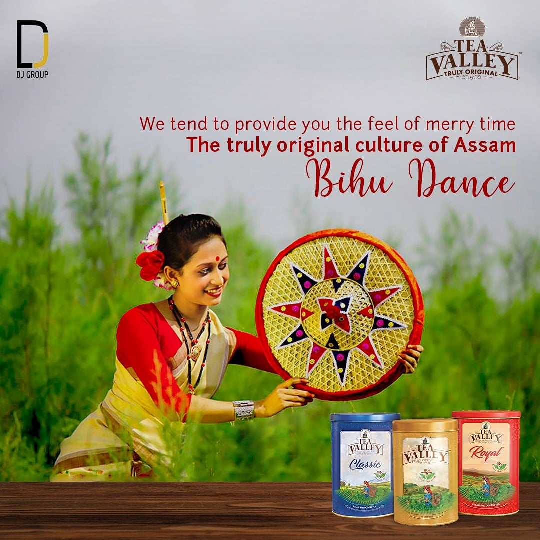 We try our best to offer you the truly original feel of merry time in the valleys of Assam through the pictorial representation of culturally rich Bihu dance. Buy now: . . . . #TeaValley #Tea #Teastory #Teatales #LoveForTea #Bihu #AssamTea #TrulyOriginal