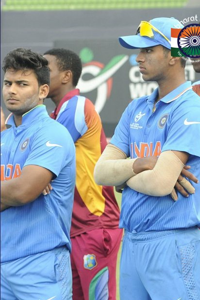 A few years ago, these two Pant and Sundar were going great guns at the Under 19 world cup. Who would have thought a few years later, these two on Australian soil will take us on course to one of India's greatest test wins .