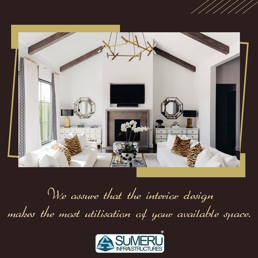 """""""इंटीरियर डिजाइनिंग"""" एक बेहतरीन विकल्प है जिसके द्वारा घर के अंदर बची हुई जगहों को सजावट से भरा जा सकता है। ईस्टर्न आर्क में आपका घर बिल्कुल यही सोच कर बनाया गया है।  #interiordesign #interior #design #homedecor #architecture #decor #home #interiors #art #homedesign"""
