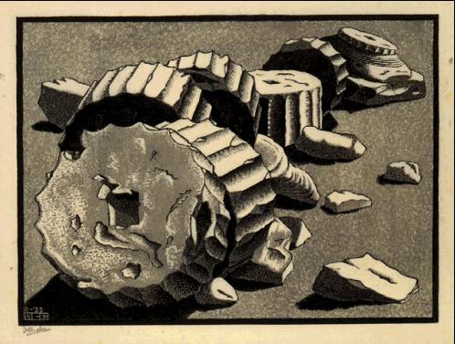 Untitled, 1935 #mcescher #surrealism