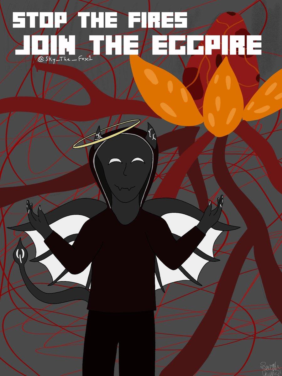 #EGGPIRE @BadBoyHalo I hope you like this poster i made for your eggpire LONG LIVE THE EGG