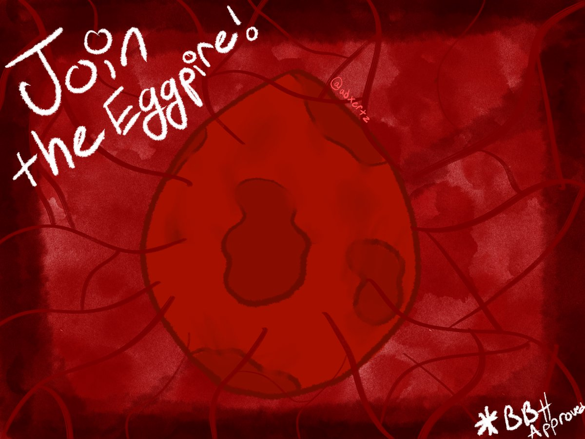 Join the Eggpire. Stop the fires. ;D #eggpire #badboyhalofanart