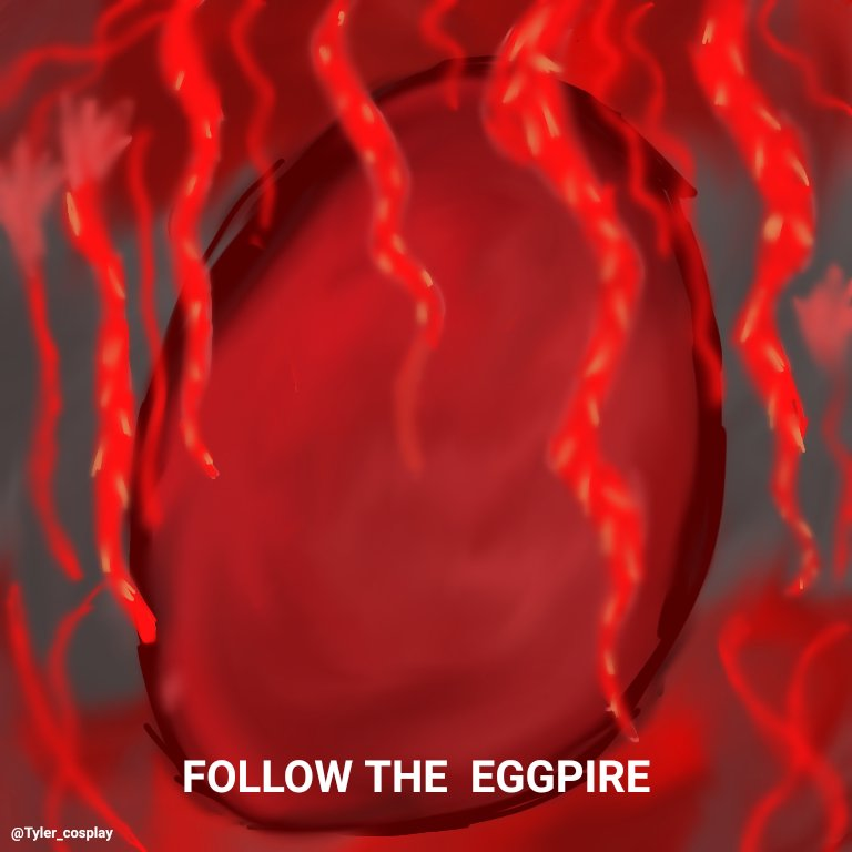 #EGGPIRE hope yall like it🥰🔮🌸🖤🤍