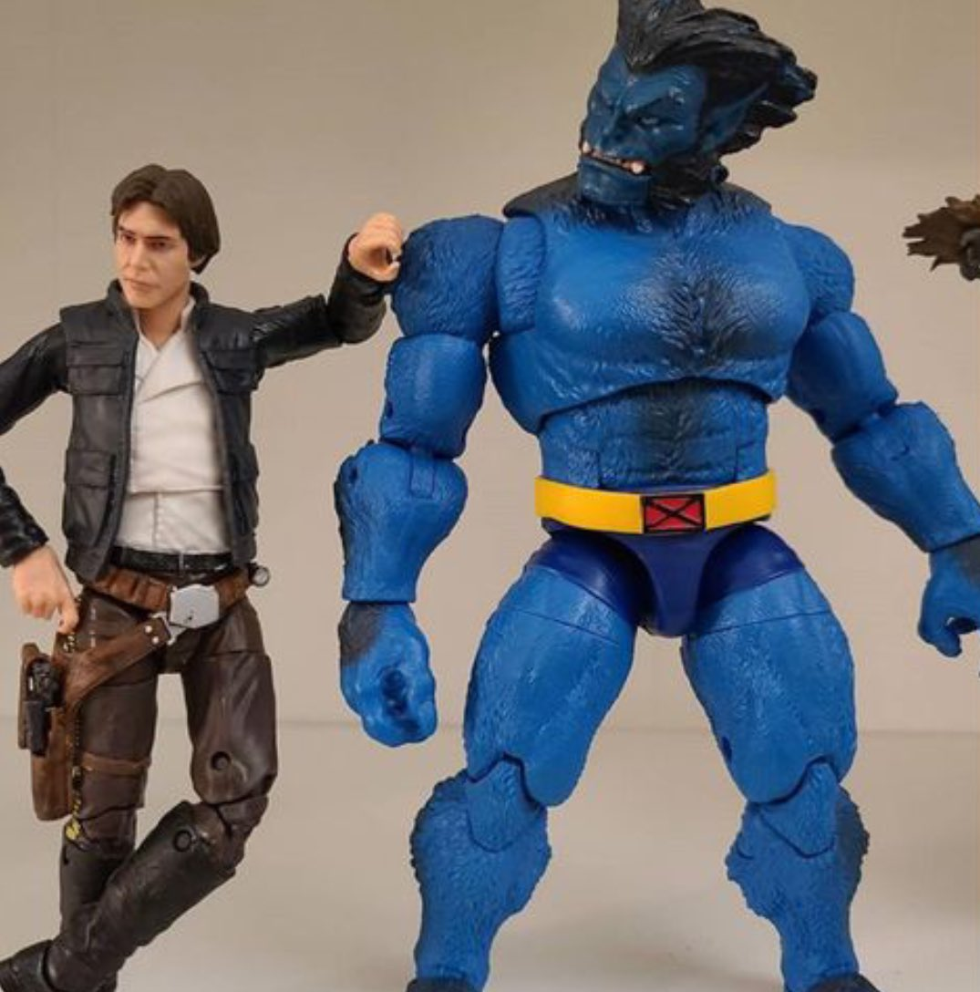 Everything alright Chewie? You seem a bit blue...