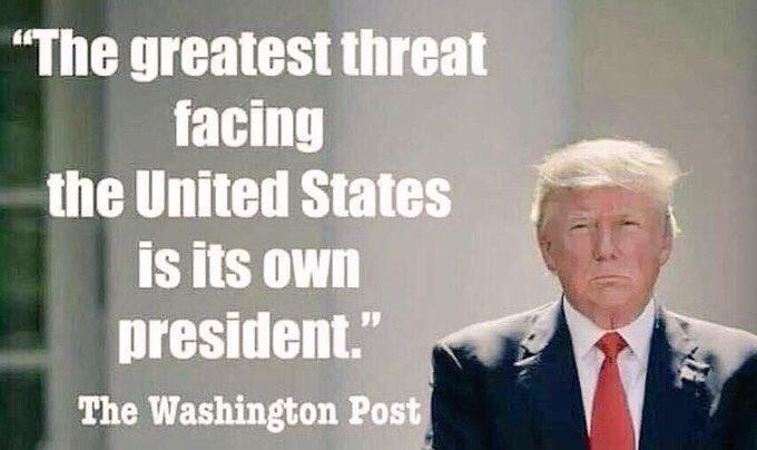@funder #TrumpChaos  #TrumpFailedAmerica  #TrumpLiesMatter  #ImpeachAndRemoveTrump