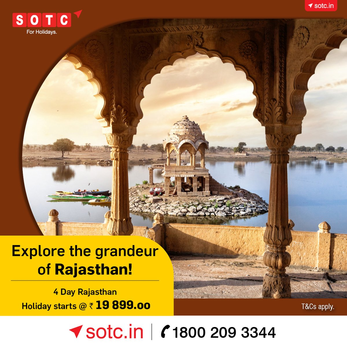 Experience the land of #royalty, #grandeur & vibrant culture. Experience #Rajasthan! Explore #holiday packages here: or call 1800 209 3344  T&Cs apply #SOTC #SOTCTravel  #incredibleindia #Indiaholidays #india #travelnow @madhavanmenon55