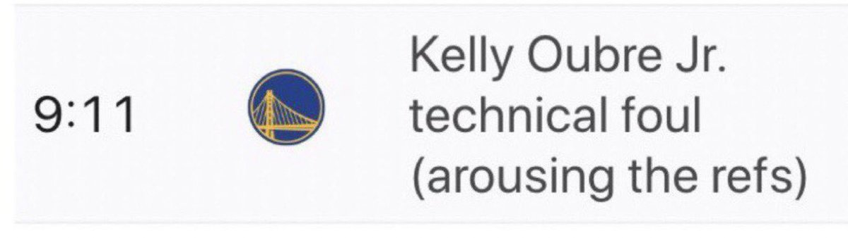 Kelly did what