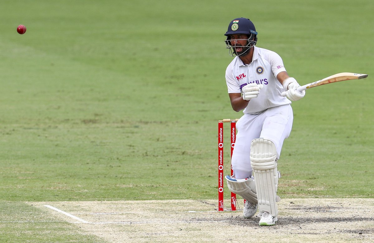 #GabbaTest Day 5 Live Score: Cheteshwar Pujara nears half-century, India 183/3 at tea. LIVE UPDATES: sify.com/sports/cricket…