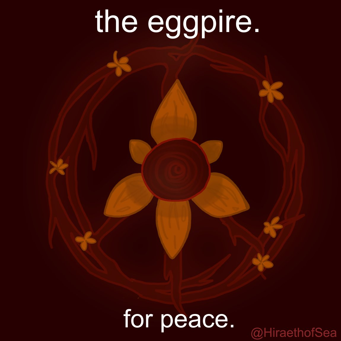 the egg. for peace. (click for better cropping, it is a square lol) #EGGPIRE @BadBoyHalo @NotAntfrost