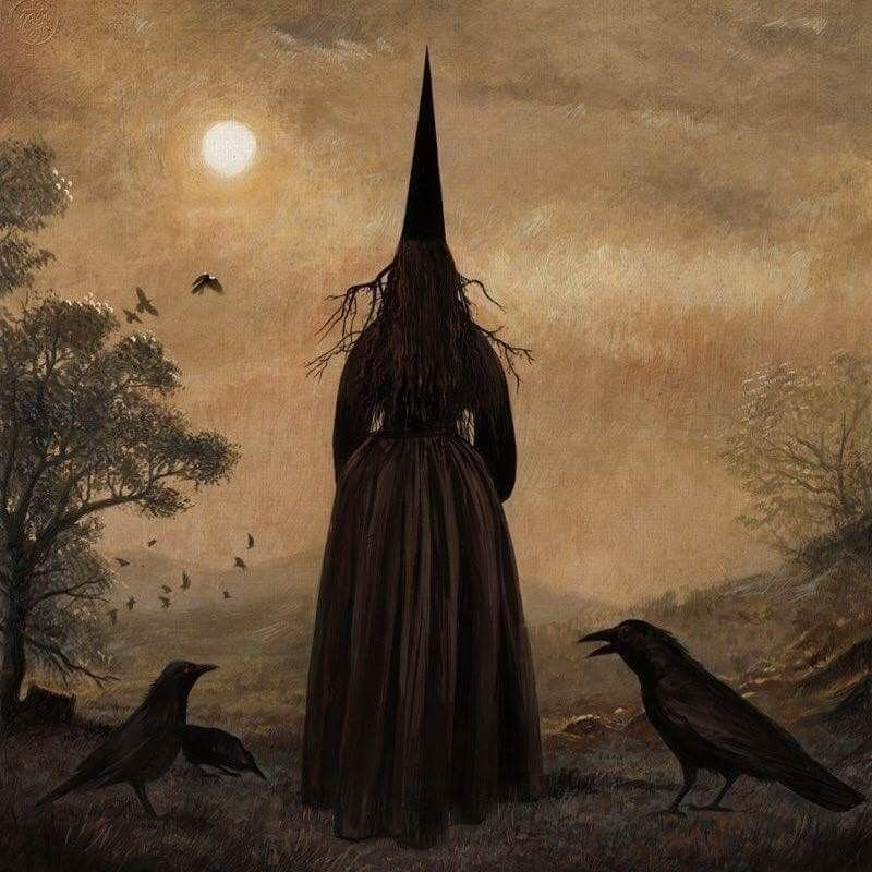 Bill Mayer #fantasyart #witches #Ravens #gothic #Fantastico