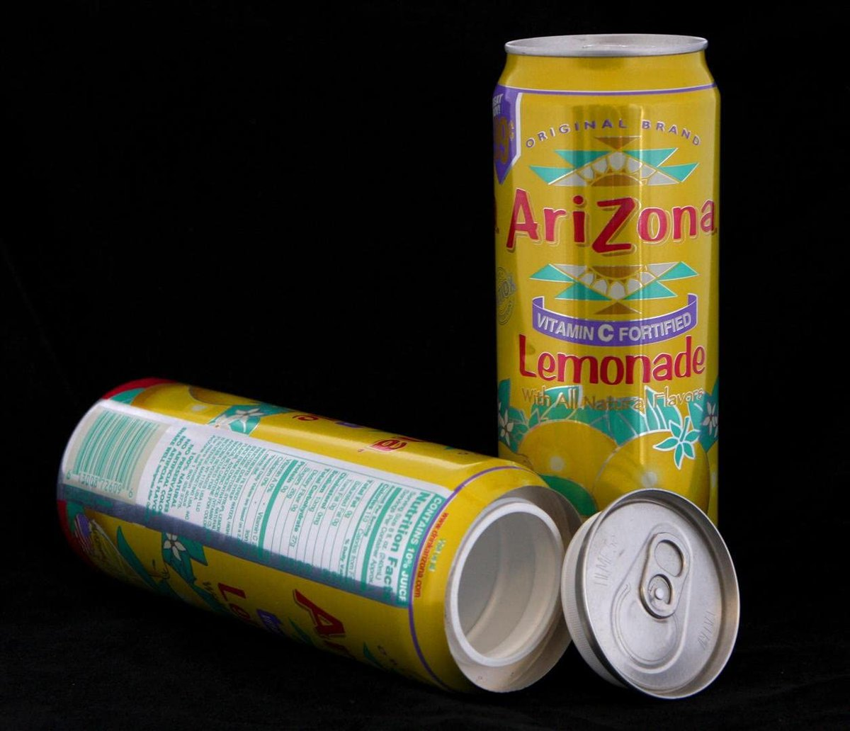 🐣. Offer Xtras! Arizona Iced Tea LEMONADE Concealment Can Diversion Safe Stash Can for $19.98 #me #home