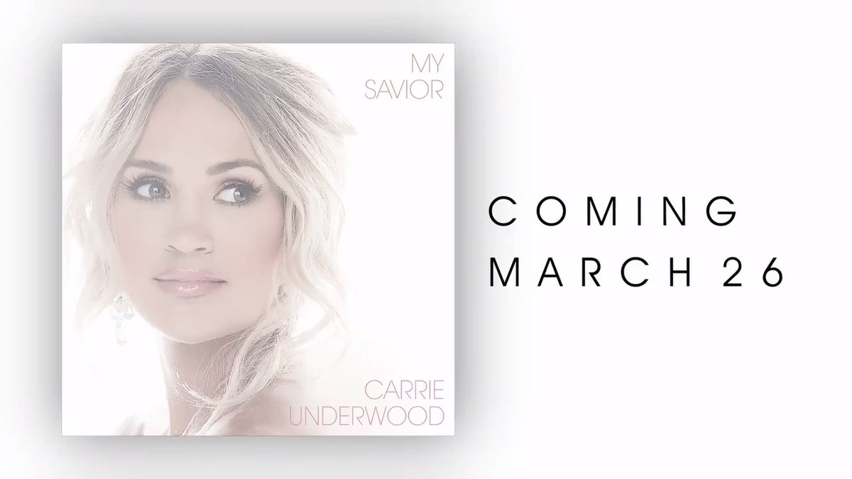 For as long as I can remember I have wanted to record an album of my favorite gospel hymns, and after #MyGift felt like the perfect time to make it happen. It's called #MySavior and it will be here March 26, just in time for Easter! ✨🙏   More info: