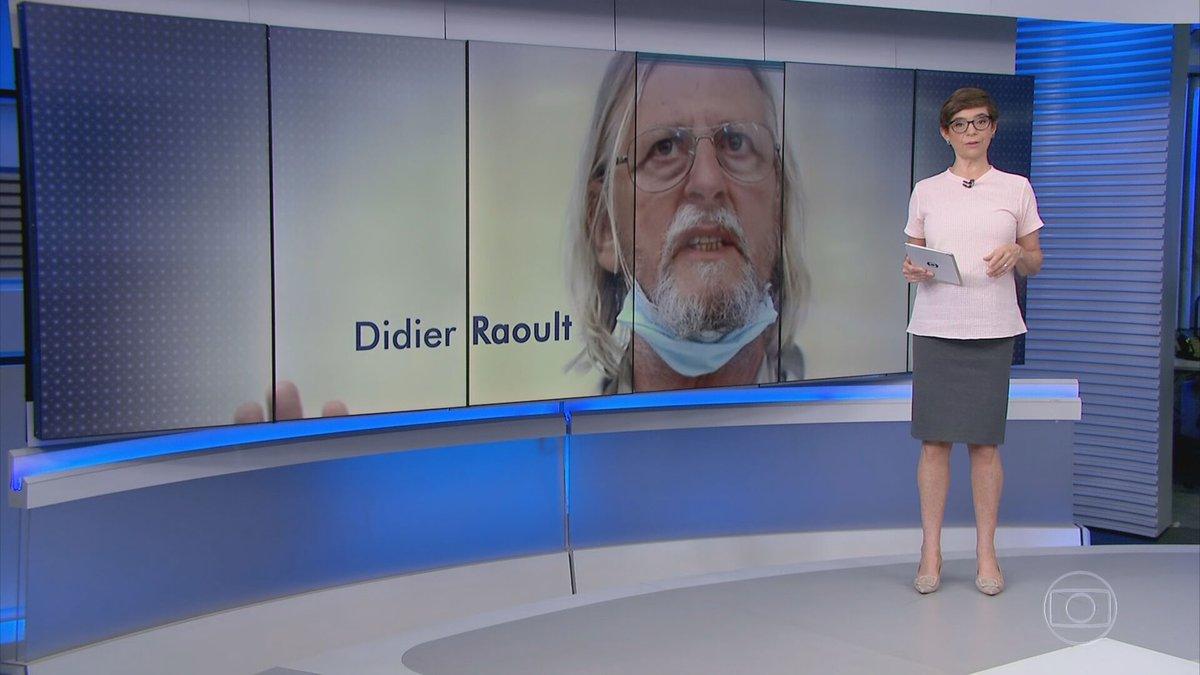 O médico francês, Didier Raoult, defensor do uso da Hidroxicloroquina no tratamento contra a Covid-19, voltou atrás nesta segunda (18) e, em carta publicada, o médico admite, pela primeira vez, que o medicamento não reduz a mortalidade da doença:  #JG