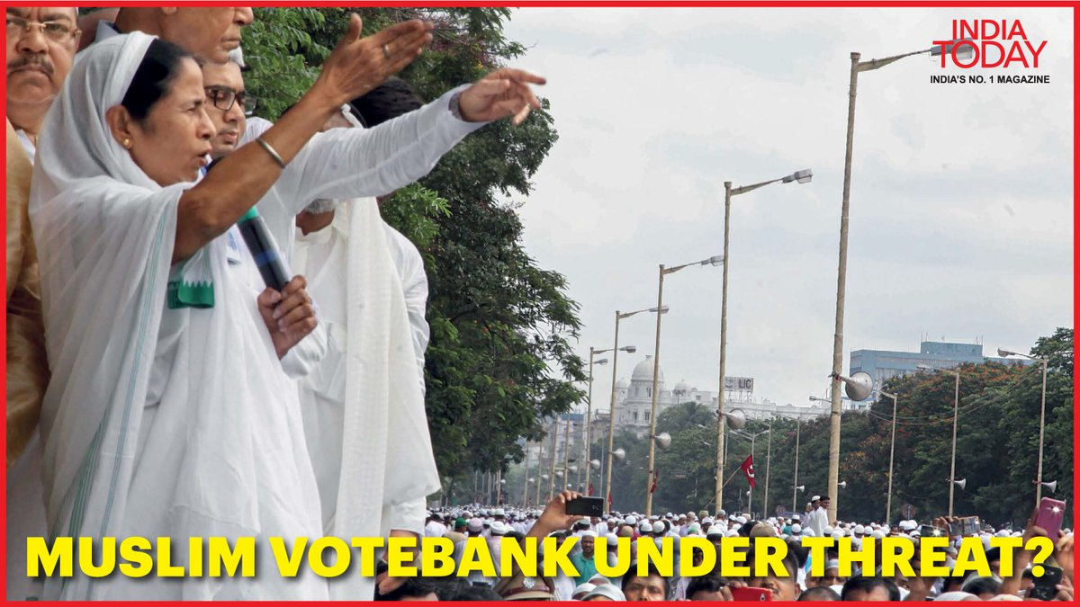 Is Mamata Banerjee's Muslim vote bank under threat? Will she be able to retain it? #MagazinePromo  Click  to know.