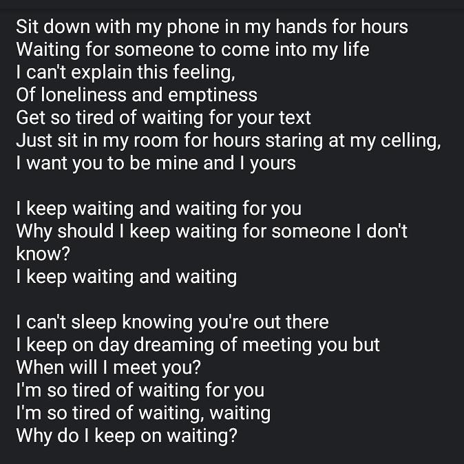 #poem #lyrics #music #happy #sad #love #song
